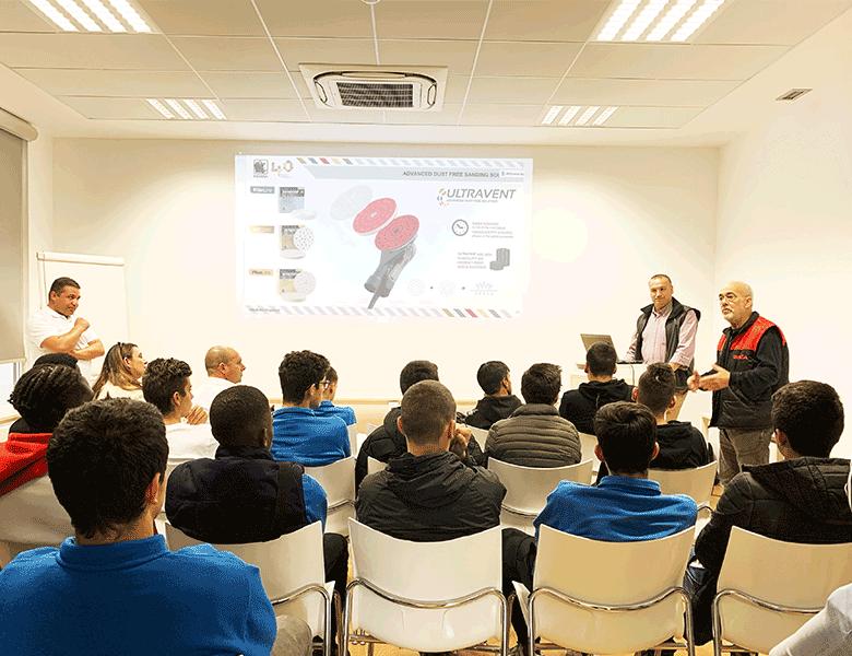 Sala de formação Academia INDASA