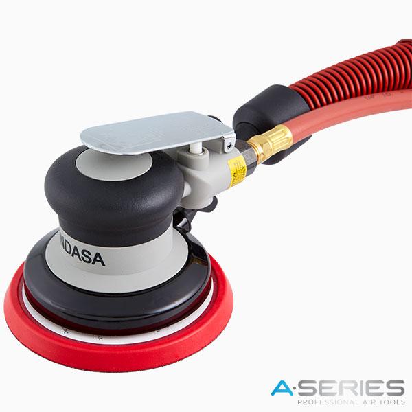 Lixadeira A-Series 125 mm auto aspiração Abrasivos INDASA
