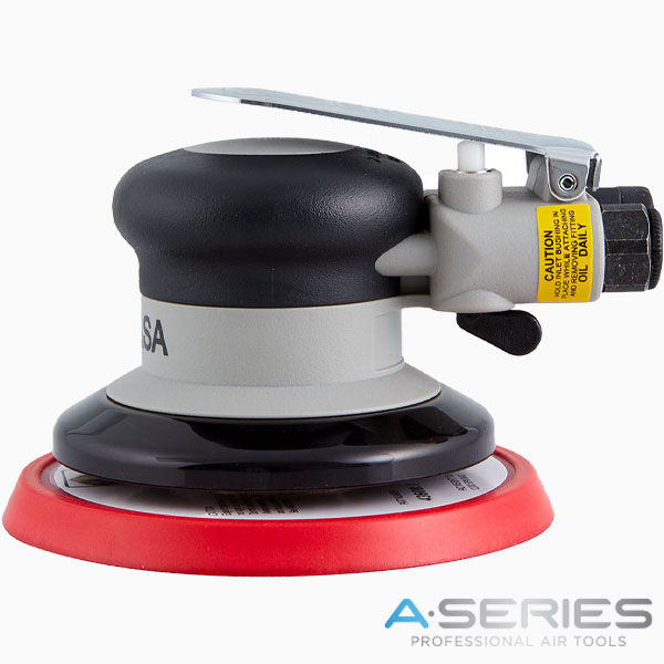 Lixadeira A-Series 125 mm sem aspiração Abrasivos INDASA