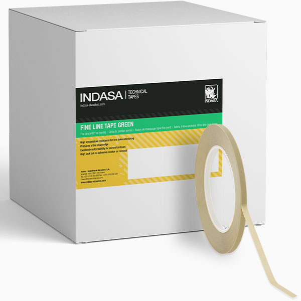 Fine Line Green Tape INDASA Abrasives