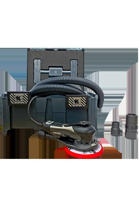 INDASA Abrasives Kit Plug and Play E-Series Sander