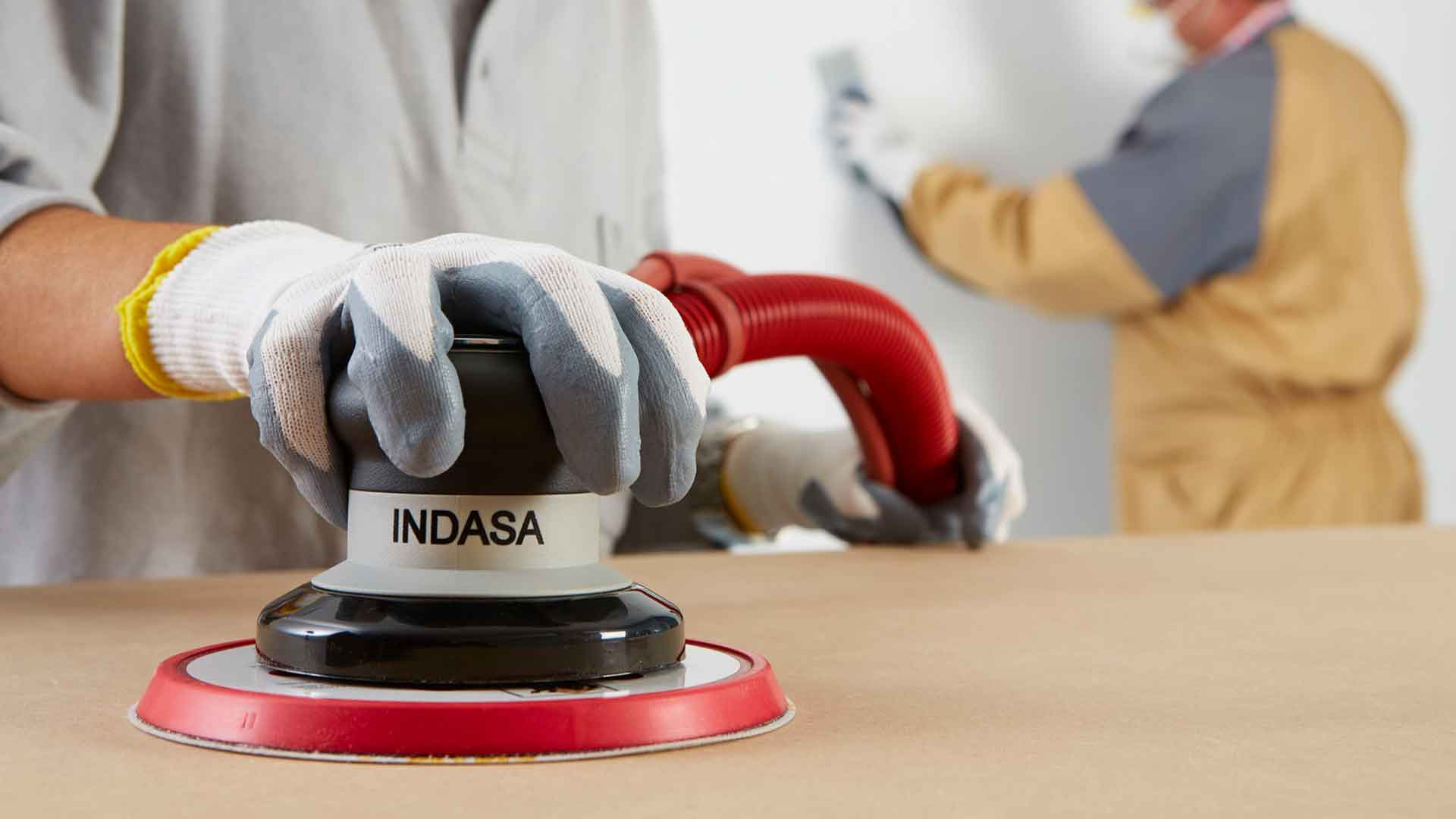 INDASA Abrasives Random Orbital Sander 150mm CV