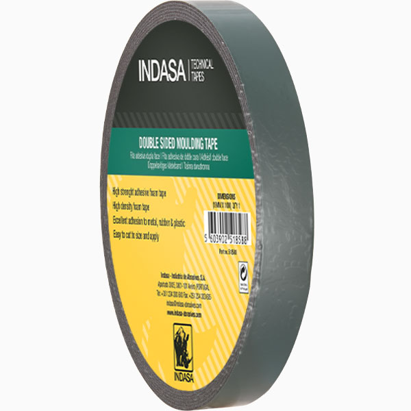 Double Sided Moulding Tape green INDASA Abrasives