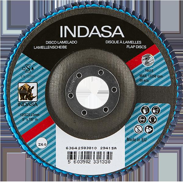INDASA Abrasives Rhyno Flap Discs Zirc