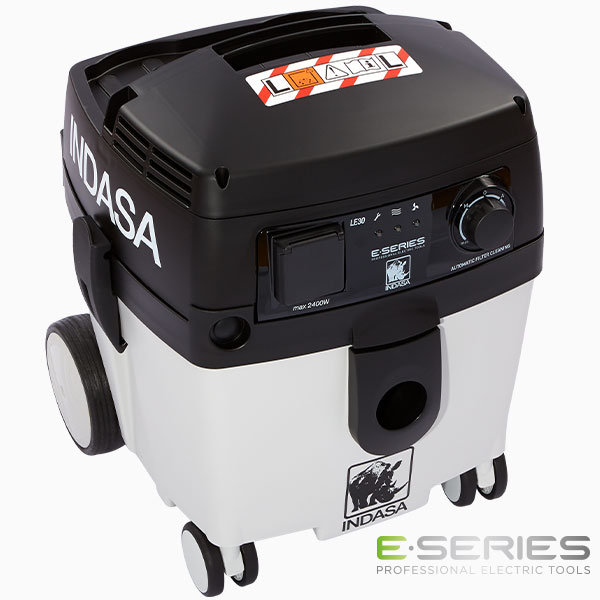 black and white vacuum unit INDASA Abrasives