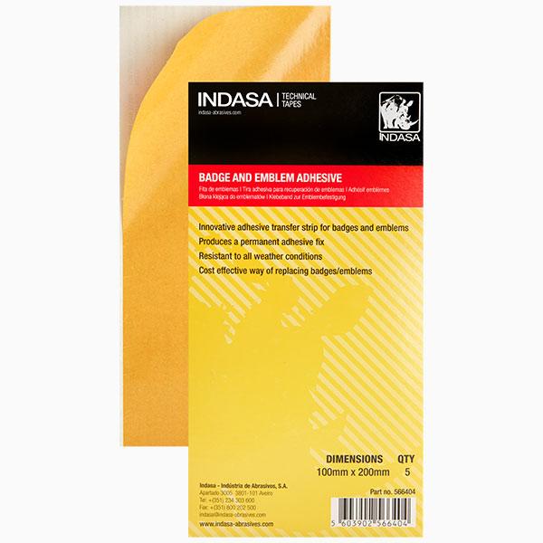 Emblem Tape yellow INDASA Abrasives