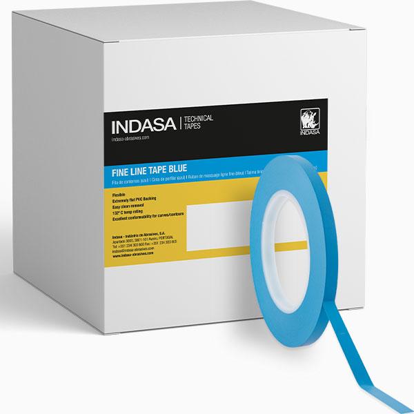 Fine Line Blue Tape INDASA Abrasives