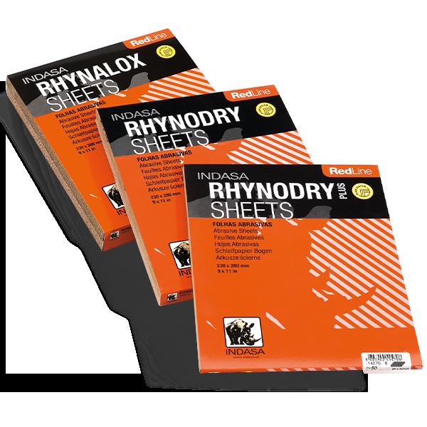INDASA Abrasives Rhynalox/Rhynodry/Rhynodry Plus
