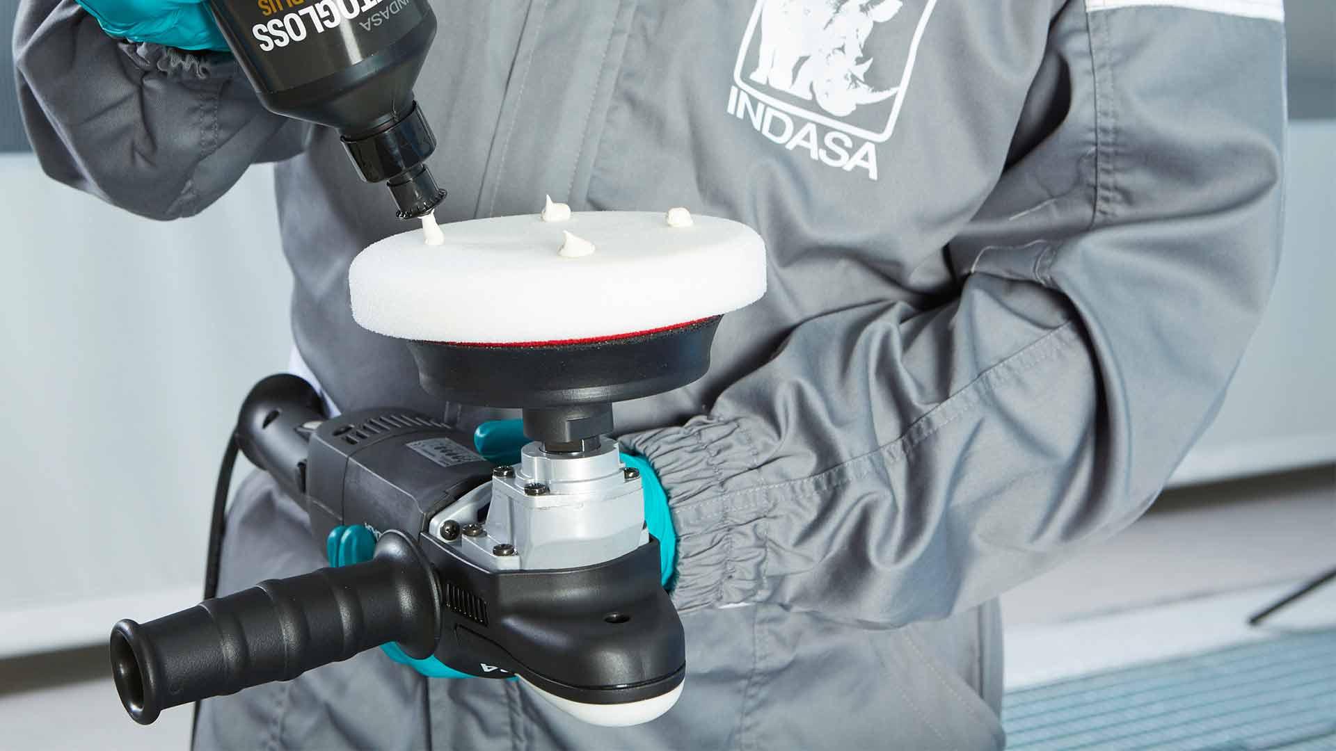 INDASA Abrasives Autogloss Mop White polishing