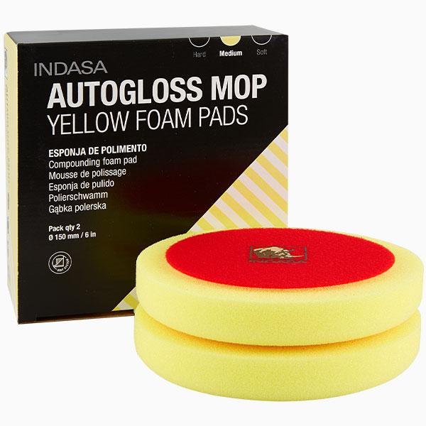 INDASA Abrasives Autogloss Mop Yellow