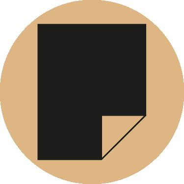 Abrasives Sheet beige icon