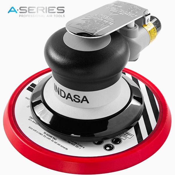 black pneumatic air sander no vacuum 150 mm INDASA Abrasives