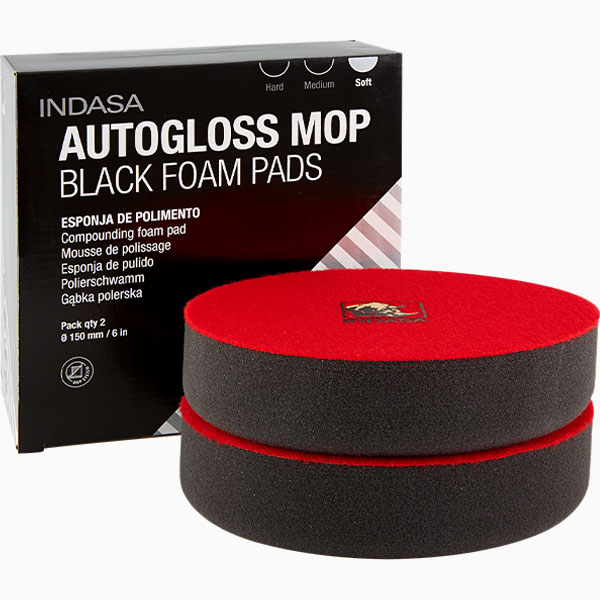 INDASA Abrasives Autogloss Mop Black