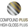 ícone compound e high-gloss plus