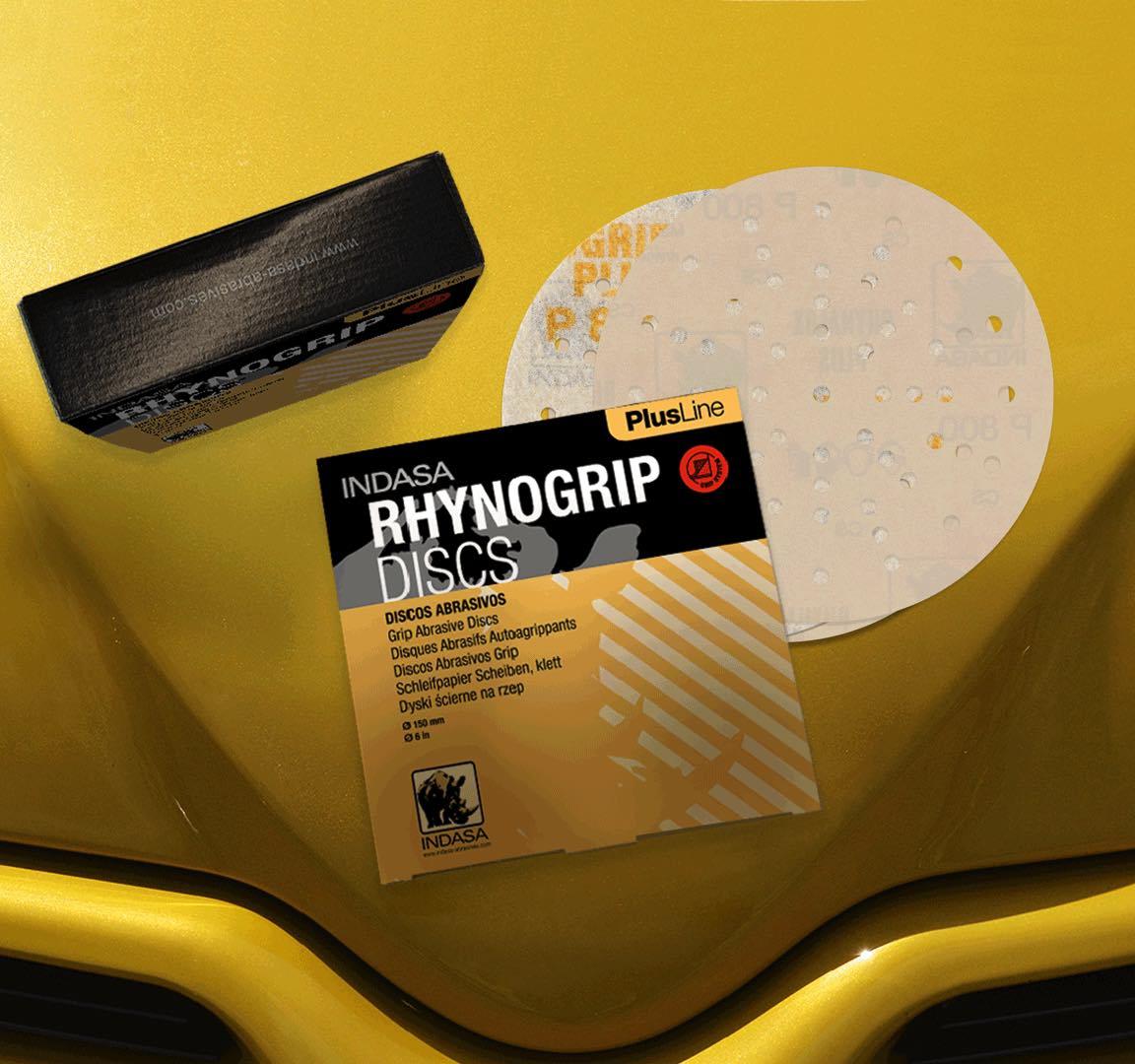 Abrasivos INDASA Rhynogrip Plus Line