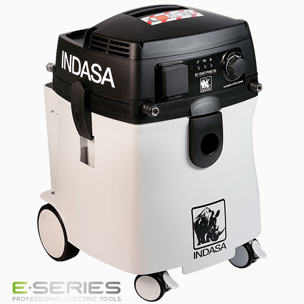 INDASA E-Series white vacuum unit 45l