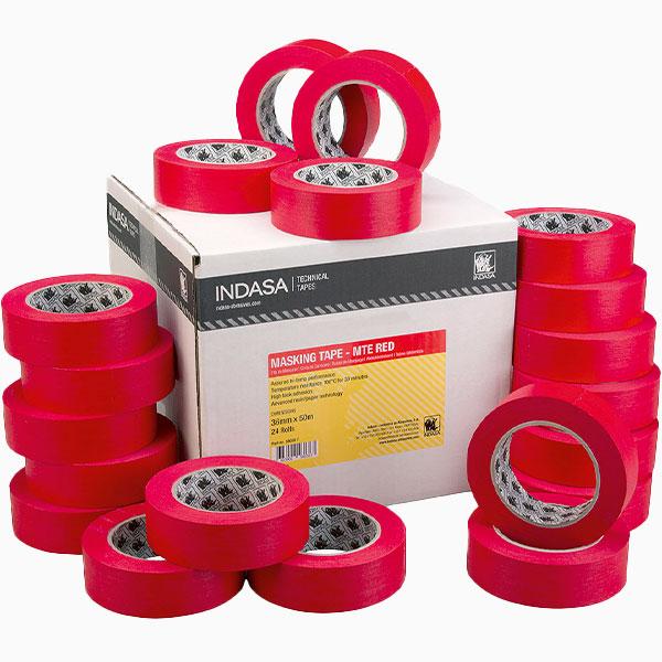 MTE-RED Masking Tape INDASA Abrasives
